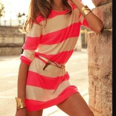 summer dresses, summer looks, style, color, the dress