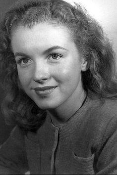 Marilyn Monroe in the 1940