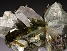 mineralia:  Titanite with Quartz & Chlorite from Pakistan by Dan Weinrich