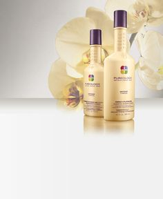 Pureology New line Perfect for Platinum. It is a Toning Shampoo for blondes!