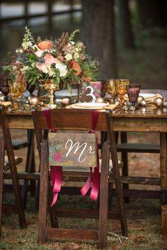 Mr & Mrs wedding sig