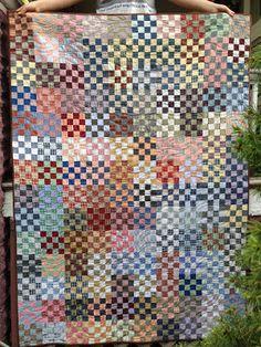 klein meisje quilts: 16 patch