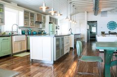 Two Kitchen Islands Design Ideas, Pictures, Remodel and Decor