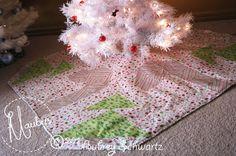 Mauby's: Candy Pieced: Tree Skirt Tutorial - 2