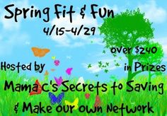 Daily Woman: Spring Fit & Fun Over $240 in Prizes {GIVEAWAY} ends 4/29