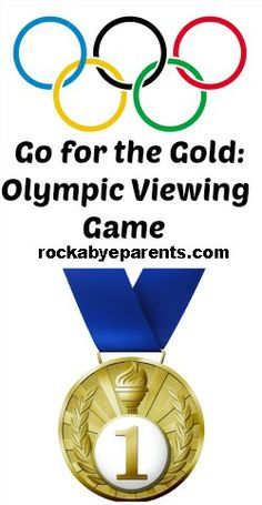 Go For The Gold: #Olympic Viewing #Game w/Free #Printables! - rockabyeparents.com