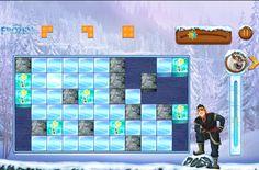 block parti, frozen game, santa game, frozen parti, game block