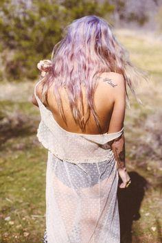Lilac hair x