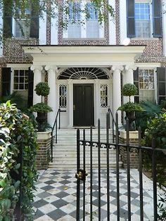 gorgeous home entrance