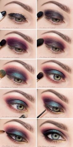 Exotic makeup for the brave... but, I would wear this on  normal day :D