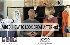How to look great after 40 - 4 quick tips and a video! | 40plusstyle.com