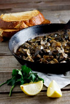The Ultimate Creamy Mushrooms