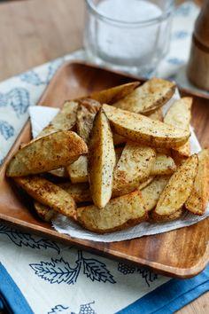 #Recipe: Oven Baked Steak Fries
