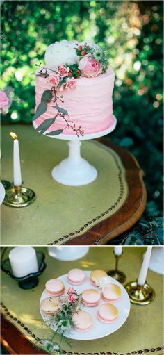 Watercolor wedding ideas with a natural touch. Captured by: Tiffany Egbert Photography #weddingchicks http://www.weddingchicks.com/2014/07/29/orange-and-pink-watercolor-wedding-ideas/