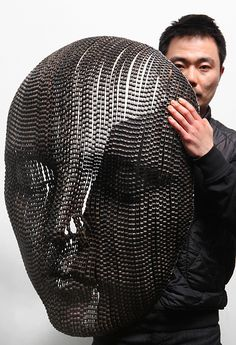 New Bicycle Chain Sculptures by Young Deok Seo