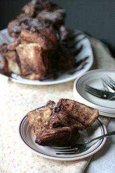 Indigo Scones: Nutella Cinnamon Sugar Pull-Apart Bread