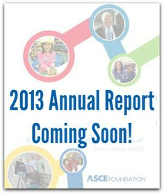 The 2013 Annual Report is Coming Soon!