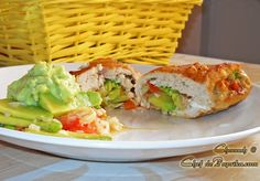 Avocado Stuffed Chicken.