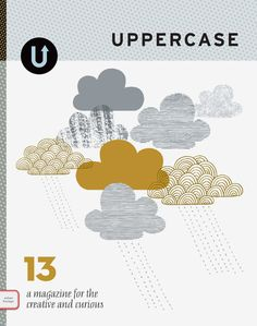 My favouritest magazine ever - love Uppercase!  It was on my wish list but now I've subscribed :)