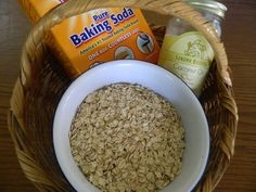 Itch Relief Oatmeal Bath good for eczema, psoriasis, poison ivy, etc.