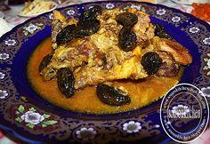 Beef Tagine with Plums/Tajine de boeuf aux pruneaux طاجين بلحم البقر Sousoukitchen http://youtu.be/OqNMILDTjX0