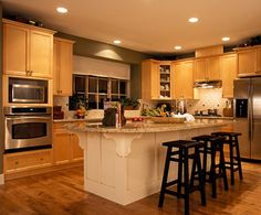 I'd love to have this kitchen!
