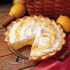 Maybe this can make up for Marie Callendar's going out of business and not being able to get their sour cream Lemon pie anymore.