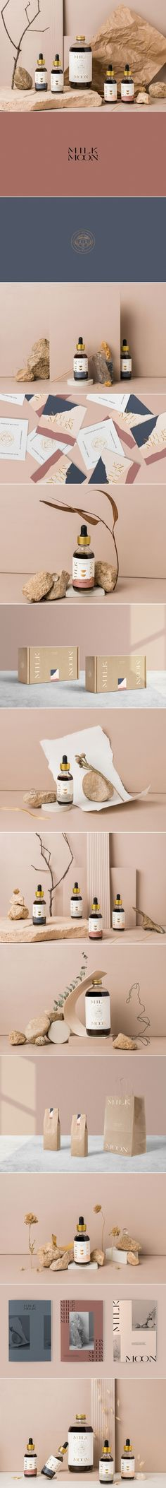 Milk Moon herbal postpartum wellness product brand design and package design by Kati Forner | Fivestar Branding Agency – Design and Branding Agency & Curated Inspiration Gallery #wellness #postpartum #branding #brandingdesign #brandinginspiration #brandingagency #brand #branddesign #brandidentity #identitydesign #packaging #packagingdesign #packaginginspiration #packagingideas #package #packagedesign #businesscarddesign #printdesign #patterndesign #logodesign #logos #typography #illustration
