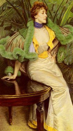 The Princesse De Broglie  Artist:James Tissot  Country of Origin:France