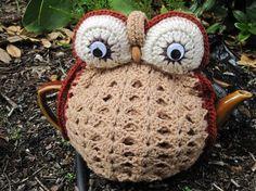 teapot, tea cozi, owl tea, tea cozyomgosh, tea cosies