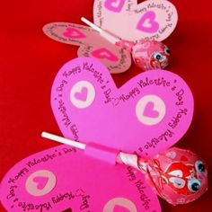 Change from valentine to birthday and use as party favors