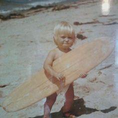 Baby surfer :)