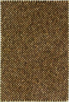 wooden rug handmade in Indonesia - perfect for patios and sunrooms!