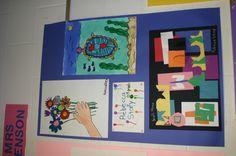 1st grade art show