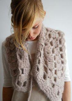suri cape, knit cape