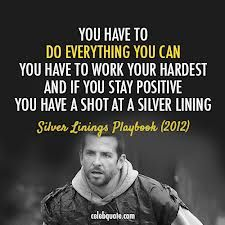 """Excelsior: """"Ever Upward"""" from Silver Linings Playbook"""