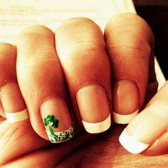 St Patrick's Day nails stpatricksday, nail crazi, nail art