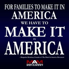 Resolve to buy American-made for the next 10 years!  Change America in TEN!