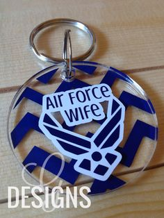 Air Force Wife/Mom/Girlfriend/Sister/Fiance Chevron by gdesigns7