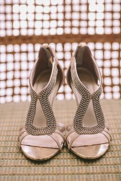 Chic wedding shoes: