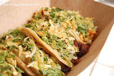 Tacos at Kogi Korean BBQ (Los Angeles, CA). #UniqueEats #bbq #tacos