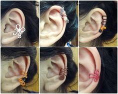 ear cuff diy #bow