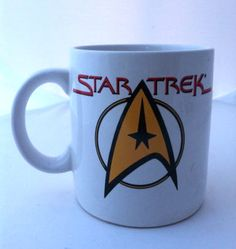 1994 STAR TREK coffee mug by Pfaltzgraff