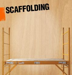 Scaffolding is a temporary structure that is used in construction to elevate and support both people and materials during building or maintenance.