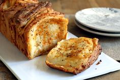 Wine and Cheese Pull-Apart Bread