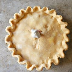 Serena Bakes Simply From Scratch: Flaky Sour Cream Pie Crust