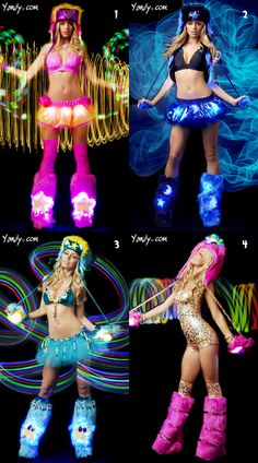 Which outfit would you wear to EDC?  Break out the body glitter, candy, and neon fur because the EDC is just around the corner…less than two months away to be exact. There's still time to get your tickets and figure out how you're going to get to the only techno and neon parade on the planet, but do you know what you'll wear?    Sure, you could show up in your mundanes and just enjoy the brilliant lights and music, but do you really want to do that? Update your rave outfits