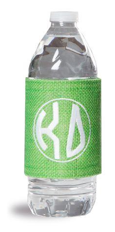 Kappa Delta Jute Beverage Wrap www.sassysorority.com