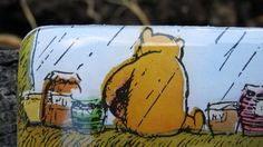 Winnie the Pooh Slider Tin Pill Holder Band by enchantedsquirrel, $9.00