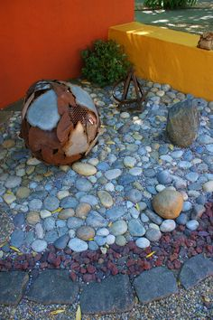 Great mix of stone